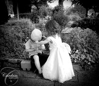 Flowergirl fun at the Woodlands Hotel, Adare Co. Limerick